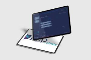 Tablets mit der Anwendung AMP.clinic