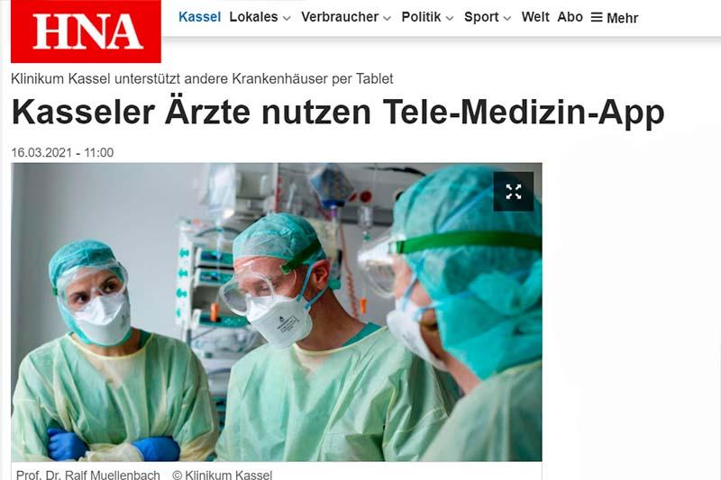 HNA Klinikum Kassel Telemedizin App