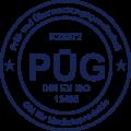 pueg_logo_qm_din_en_ido_13485_dark